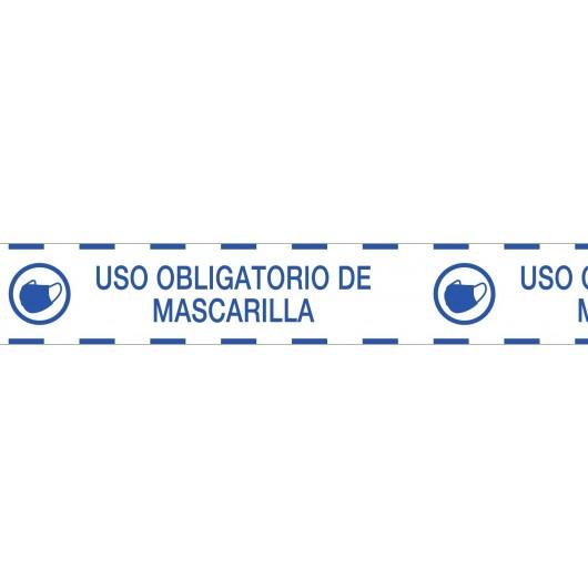 Cinta de señalización PVC:...